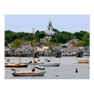 Nantucket Massachusetts, cartão de Cape Cod
