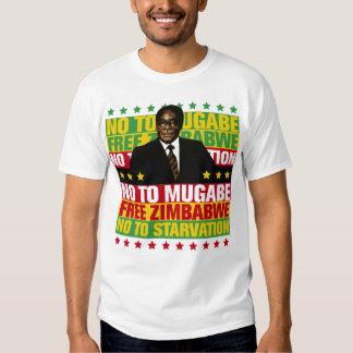 Não a Mugabe Tshirts