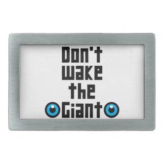 Não acorde o gigante