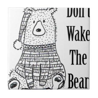 Não acorde o urso