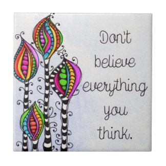 Não acredite tudo
