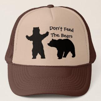 Não alimente os ursos boné