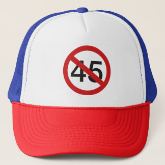 Não ao boné de beisebol 45
