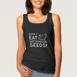Não coma sementes da melancia regata