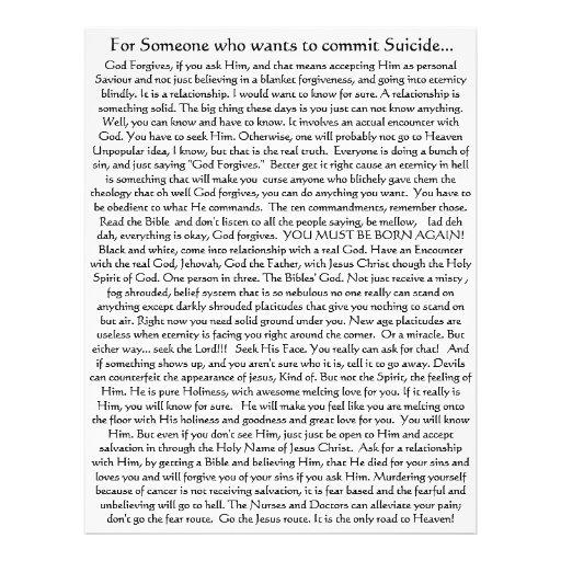 Não cometa o suicídio! Insecto Modelos De Panfleto
