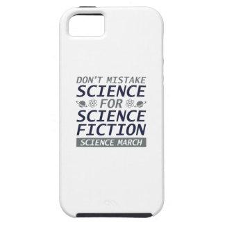 Não confunda a ciência capas para iPhone 5
