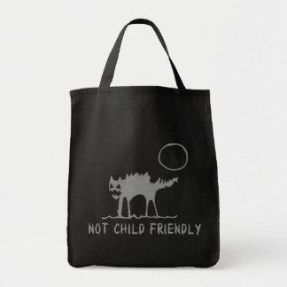 Não criança amigável bolsa