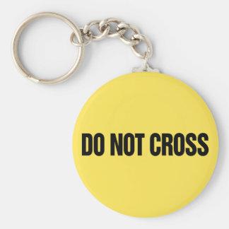 Não cruze o chaveiro