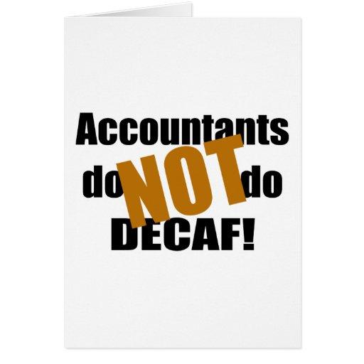 Não Decaf - contador Cartões
