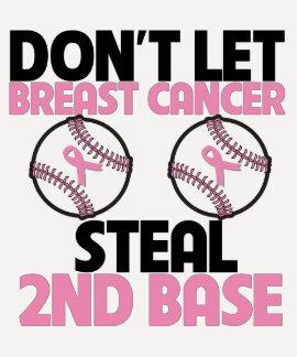 Não deixe o cancro da mama roubar a ?a base t-shirt
