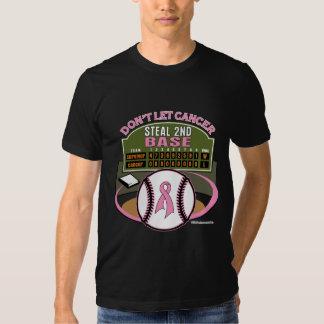 Não deixe o cancro da mama roubar o ò placar baixo camiseta