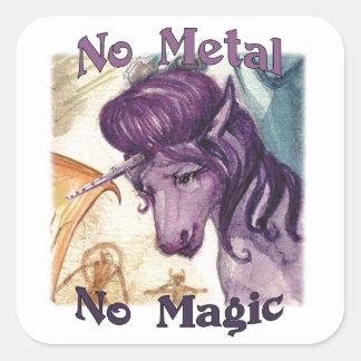 Não denomine nenhum metal nenhumas etiquetas