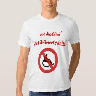 não desabilitou tshirts