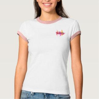Não é fácil - t-shirt cor-de-rosa do karaté camiseta