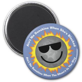 Não é nenhum ímã do eclipse da luz do sol imã