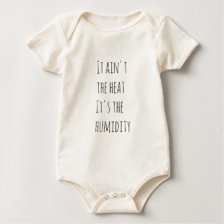Não é o calor que é a umidade body para bebê