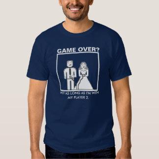 """Não é um """"jogo sobre"""" com meu jogador 2 tshirts"""