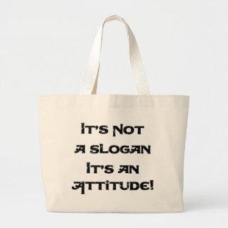 Não é um slogan bolsa