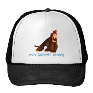 Não enfureça o macaco boné