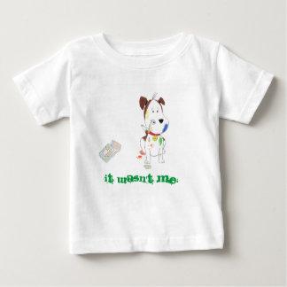 """""""Não era mim!"""" camisa da criança"""