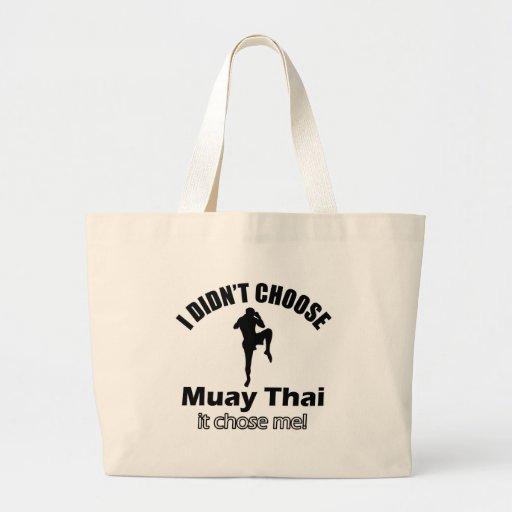 Não escolheu tailandês muay bolsa para compras