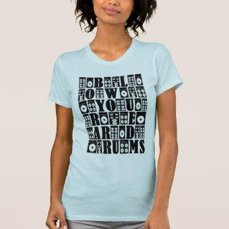 Não escute sua mãe… camiseta