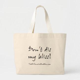 Não faz o dis minha felicidade! bolsa tote grande