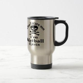 Não faz o susto mim que eu sou jogador do Netball Caneca Térmica