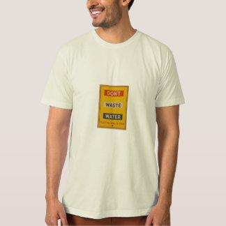 não fazem as águas residuais camiseta