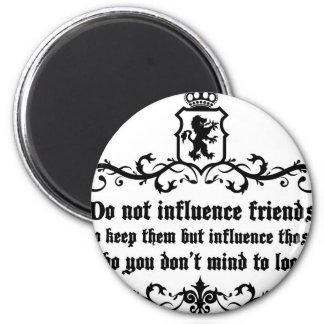 Não fazem as citações dos amigos de Influece Imã