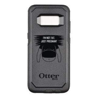 Nao gordo, apenas grávido capa OtterBox commuter para samsung galaxy s8