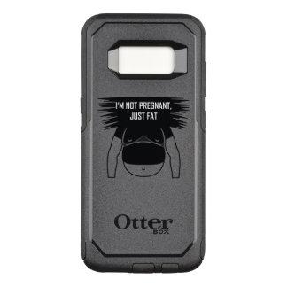 Nao grávido, apenas gordo capa OtterBox commuter para samsung galaxy s8