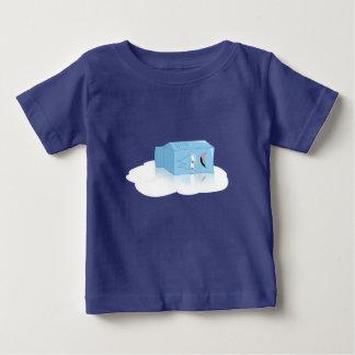 Não grita o leite sobre derramado camiseta para bebê