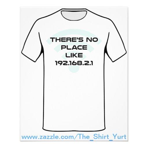 Não há nenhum lugar como o IP address Home Modelo De Panfletos