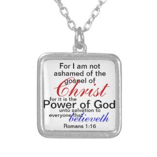 nao humilhado do evangelho da colar do cristo