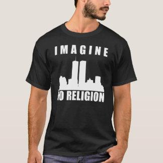 Não imagine nenhuma religião camiseta