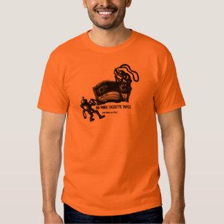 Não mais desenho engraçado da caneta da tinta das camiseta