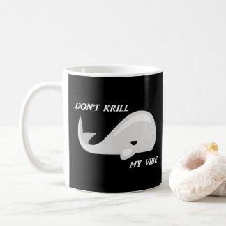 Não mate minha caneca da chalaça da baleia da