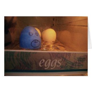 Não me coma cartão do ovo da páscoa