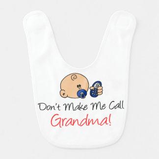 Não me faça o babador da avó da chamada