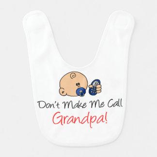 Não me faça o babador do vovô da chamada
