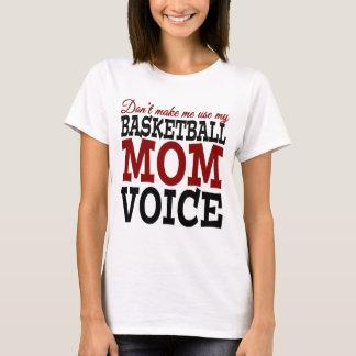 Não me faça usar meu t-shirt da voz da mamã do camiseta