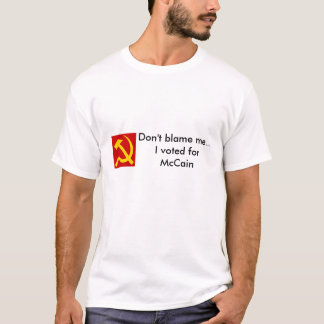 Não me responsabilize… camiseta