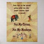 Não meu circo, não meus macacos