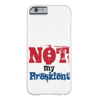 Não meu presidente capa de telefone
