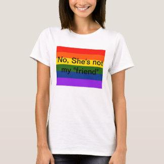 """Não, não é minha camiseta lésbica do """"amigo"""""""