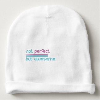 Nao perfeito…. gorro para bebê