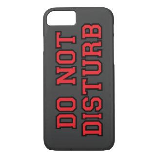 Não perturbe capa iPhone 7