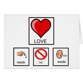 Não precisa nenhum notecards das palavras cartão