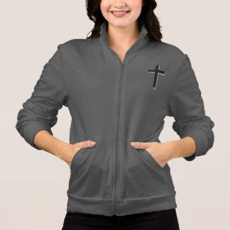 Não preocupe a cruz da jaqueta w/Black do